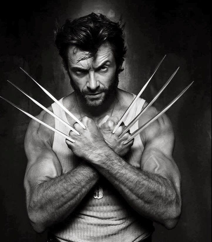 Wolverine Hugh Jackman. via: https://plus.google.com/100021025784352405813
