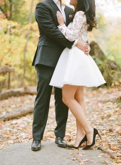 Gushing over this e-sesh: http://www.stylemepretty.com/little-black-book-blog/2014/12/18/elegant-autumn-new-york-city-engagement-session/ | Photography: Rebecca Yale - http://rebeccayaleportraits.com/