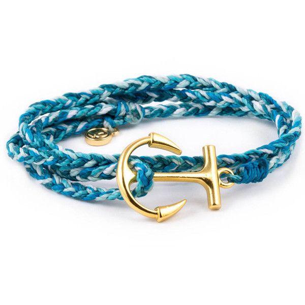 Pura Vida Bracelets Anchor Aqua Wrap ($26) ❤ liked on Polyvore featuring accessories, scarves, activewear, pura vida, wrap scarves, wrap shawl and anchor scarves