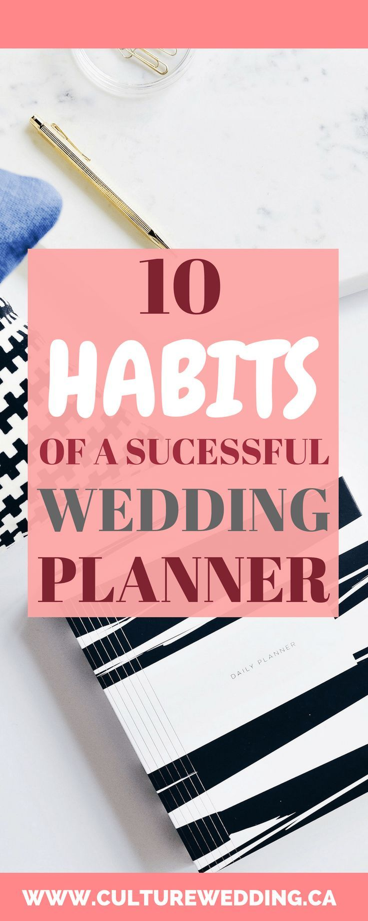 10 Habits of a Successful Wedding Planner – start a wedding business