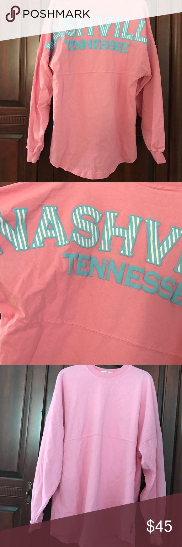 Nashville Tennessee Spirit Jersey Worn once Nashville, TN spirit jersey. Size XS. Reason for selling: don't wear enough. SPIRIT JERSEY Tops Tees - Long Sleeve