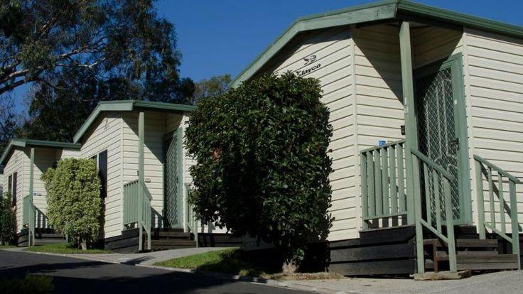 Melbourne one Bedroom Cabin exterior. #MelbourneBIG4