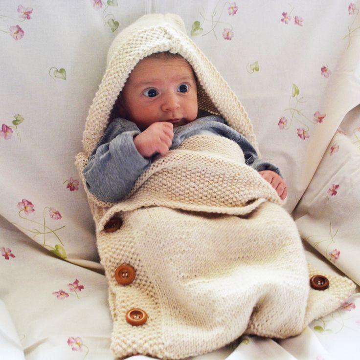 Sacco Nanna lavorato a maglia, Sacco Nanna fatto a mano, 100% Alpaca, Regalo nascita di AlpacaDiMarano su Etsy