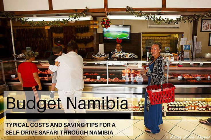 A detailed breakdown of costs incurred on a budget Namibia trip - a self-drive/ camping trip in December 2014 - including food, accommodation and transport.