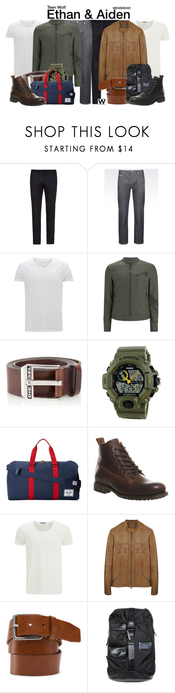 Luxury  Teen Wolf by wearwhatyouwatch liked on Polyvore featuring Neuw denim Armani Jeans