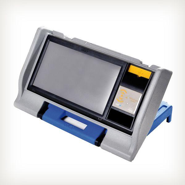 Máquina de voto electrónico vot.ar de Grupo Msa S.A., distinguido con el Sello de Buen Diseño 2013.