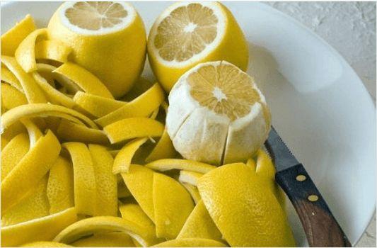 Μερικά από τα οφέλη από τις φλούδες λεμονιού οφείλονται στην υψηλή του περιεκτικότητα σε βιταμίνες C, A, Β1 και Β6 όπως επίσης σε μαγνήσιο, βιοφλαβονοειδή, πηκτίνη.