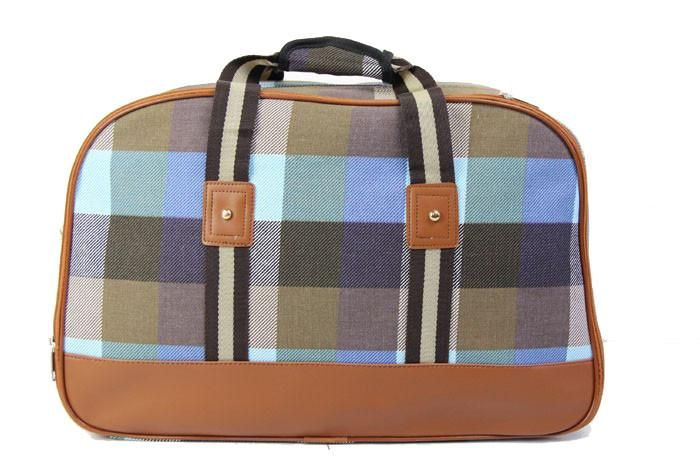 Maternity Bag | Signature Blue & Tan Plaid | Hospital Bag ONLY