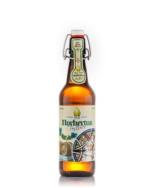 B&R Bevande enoteca Torino - Shop online. Birra bionda dal colore giallo intenso prodotta in Germania dalla prestigiosa casa produttrice Norbertus. Ha poche bolle ma la sua schiuma è vaporosa, intensa e persistente. Gradazione alcolica 5,8%.
