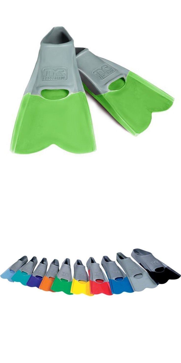 Training Aids 159175: Tyr Crossblade Training Swim Fin - Sm (5-7) - Green -> BUY IT NOW ONLY: $31.99 on eBay!