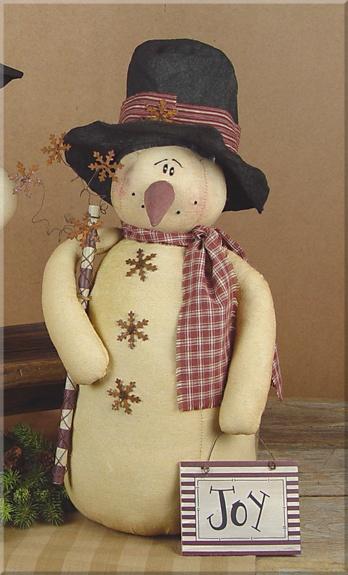 C937  Large Joy Snowman