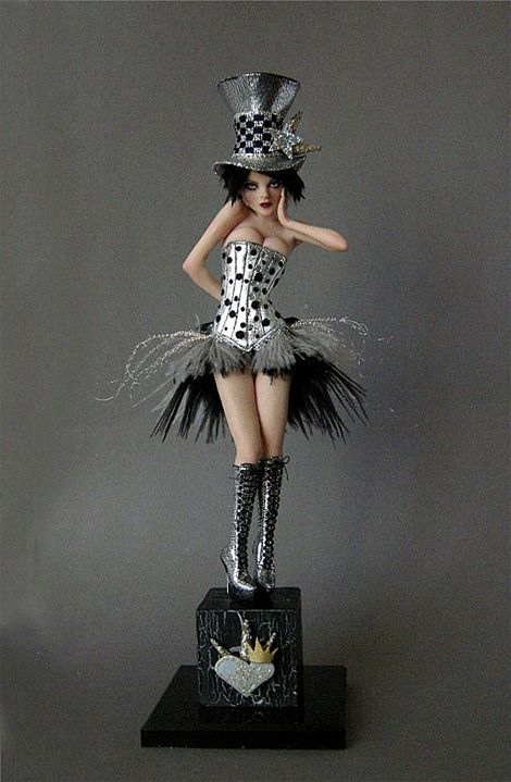 New Years Diva doll by Nicole West