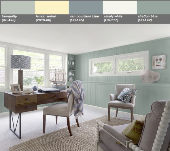 17 Best Images About Benjamin Moore S Tranquility Af 490