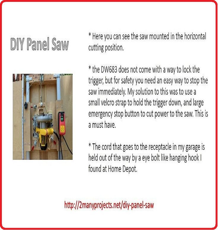 11 best DIY Panel Saw images on Pinterest | Panel saw, Lumber ...