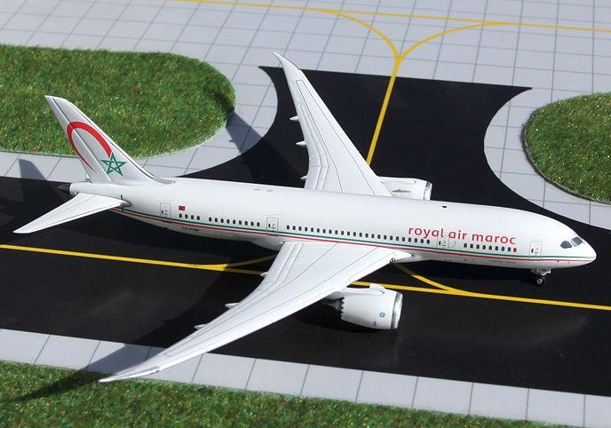 1/400 GeminiJets Royal Air Maroc Boeing 787-8 Dreamliner