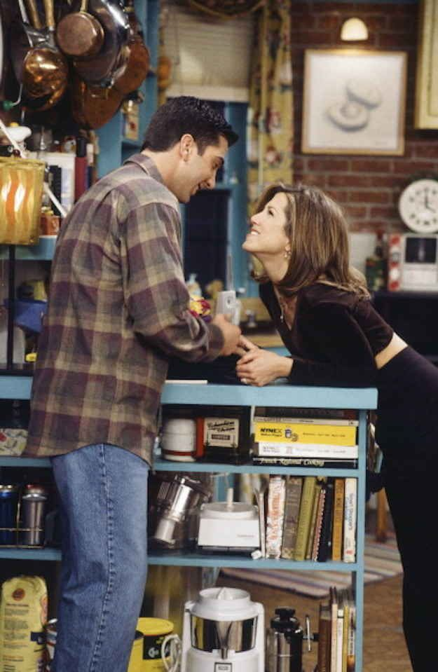 The two of them being together made so much sense.   Why You'll Never Really Get Over Ross And Rachel