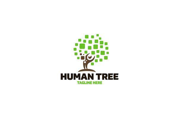 Human Tree Logo - Logos