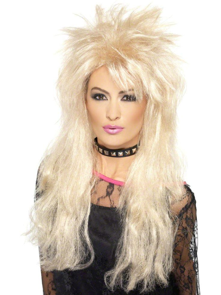 Kasari blondi peruukki. Täydellinen peruukki kaikille 80-luvun blondityylin perään haikaileville.