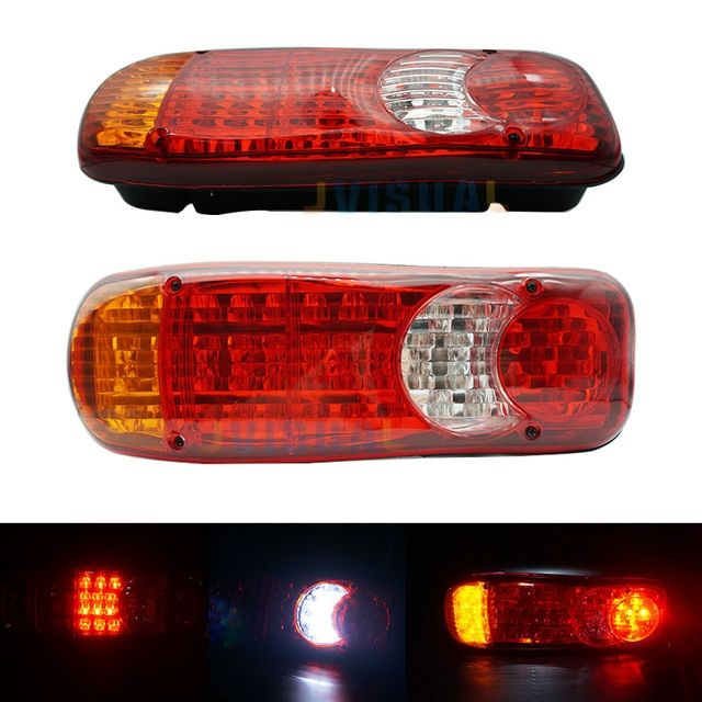 1PC Auto Car Motorcycle LED Flashing Rear Brake Stop Tail Signal Light Bulbs 12V