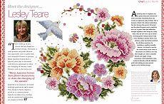 Цветочная вышивка по схеме. Бесплатная схема вышивки цветы | Все о рукоделии: схемы, мастер классы, идеи на сайте labhousehold.com