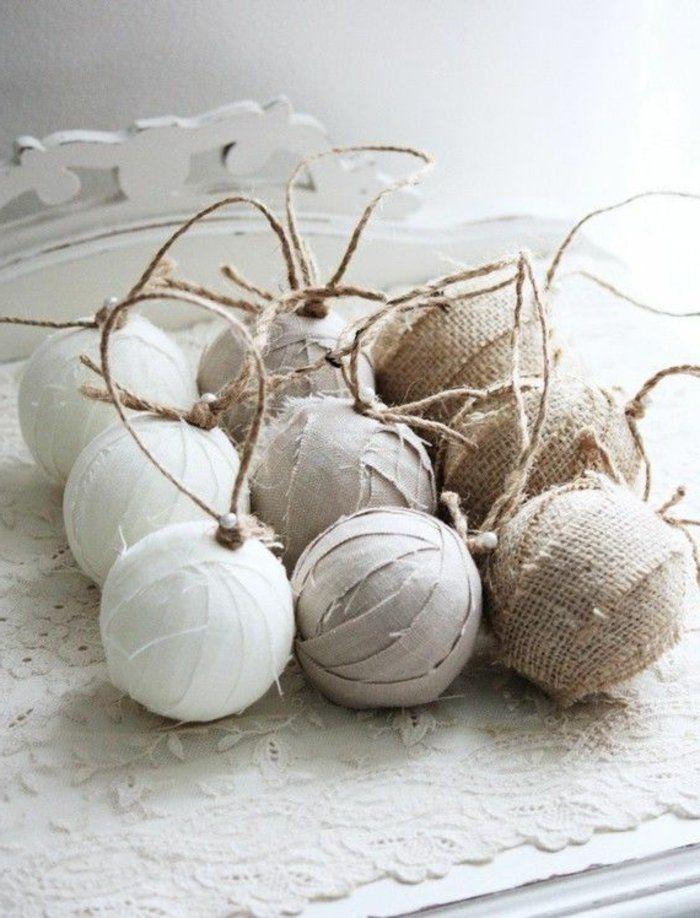 jolie idee pour boule de noel a faire soi-meme en tissu