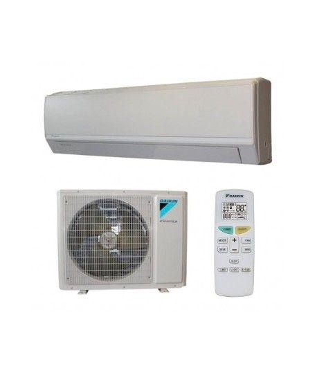 Daikin FTXV25AB/RXV25AB Inverter, 9000 BTU răcire rapidă cu eficiență maximă, timer on-off, hot start, X-Fan, clasa A+, funcționare silențioasă a unității exterioare și interioare.