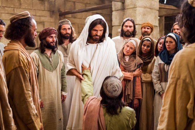 Jezus pośród Apostołów