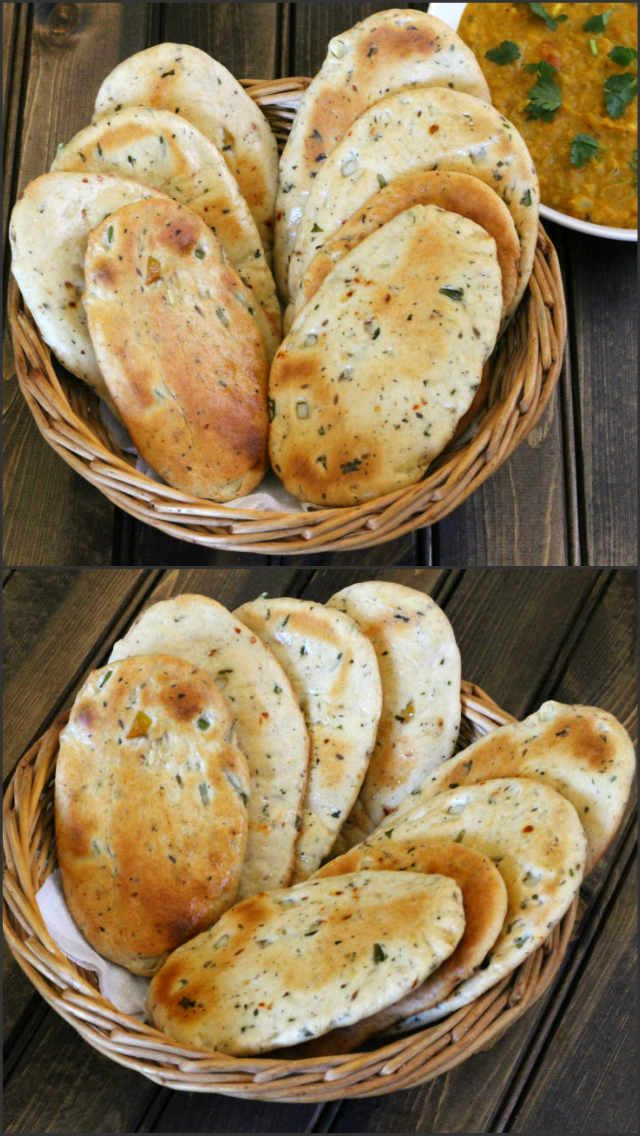Flavored Flatbread is a very easy to make, irresistible and a tasty bread recipe prepared using all purpose flour, wheat flour and spices.