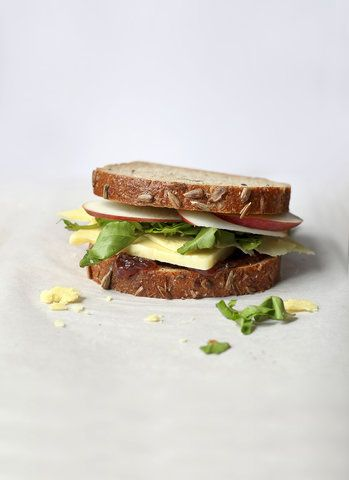 Ploughman's Sandwich | Get the recipe for Ploughman's Sandwich.