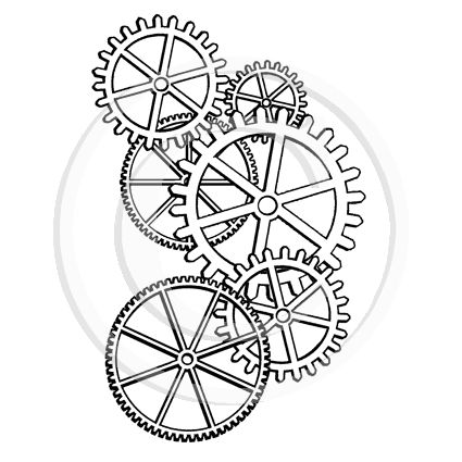 Cogs And Gears on gear tattoo drawings