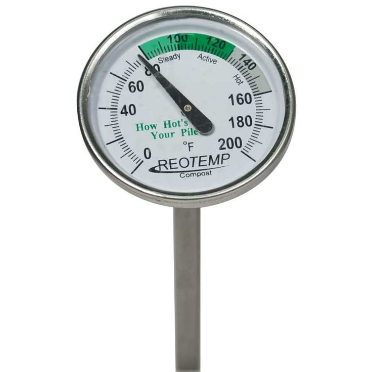 "Reotemp Compost Thermometer, 20"" - Compost Thermometer - Composting - Garden Tools"