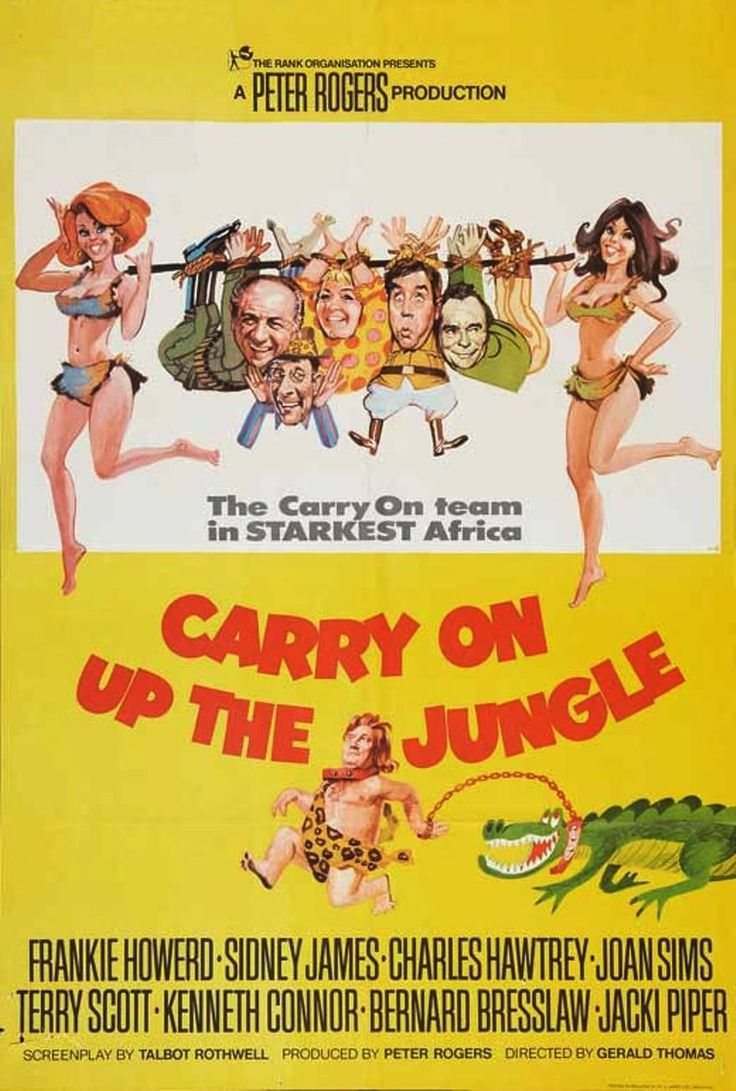Carry on up the jungle 1970~ My favourite Carry on film ever
