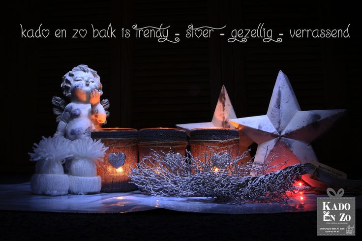 Onwijs leuke kerstcadeaus bij Kado en Zo Balk