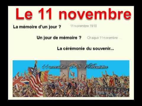 ▶ Pourquoi le 11 novembre - YouTube