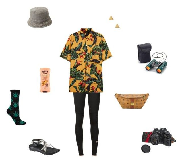 """""""Homecoming Week:Senior Year-Tacky Tourist!"""" by walzfashion ❤ liked on Polyvore featuring Chaco, adidas, Phenomenon, MCM, Forever 21, Argento Vivo, Hawaiian Tropic and American Eagle Outfitters"""