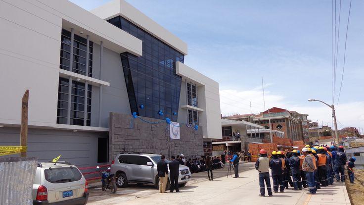Escuela Profesional de Turismo de la Universidad Nacional del Altiplano UNA-Puno. Foto: Octubre del 2014.