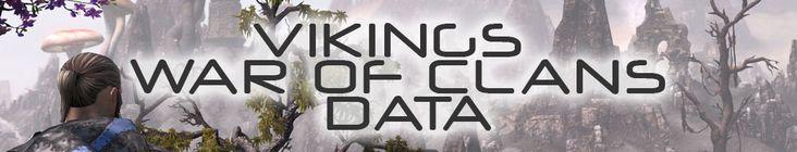 Vikings War of Clans Data
