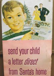 Write to Santa, Elves write back! - To receive a written letter from Santa Claus, a letter with a legible return address must be mailed to:     Santa Claus   PO Box 1   Santa Claus, IN 47579
