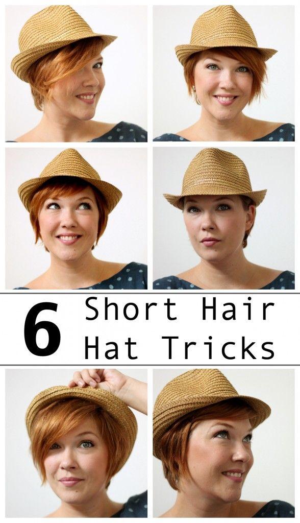 6 Short Hair Hat Tricks | Alida Makes