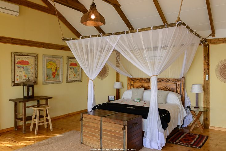 One of the suites at Tongabezi Lodge near Livingstone in Zambia