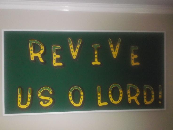 Revival Bulletin Board Awesome Bulletin Boards