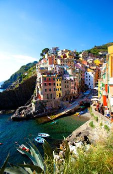 Italy Vacation Tours (looks like the Cinque Terre - beautiful hues!)