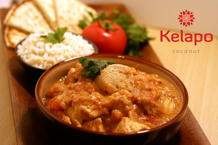 "Chef Cristian's Kelapo Coconut ""Butter"" Chicken"