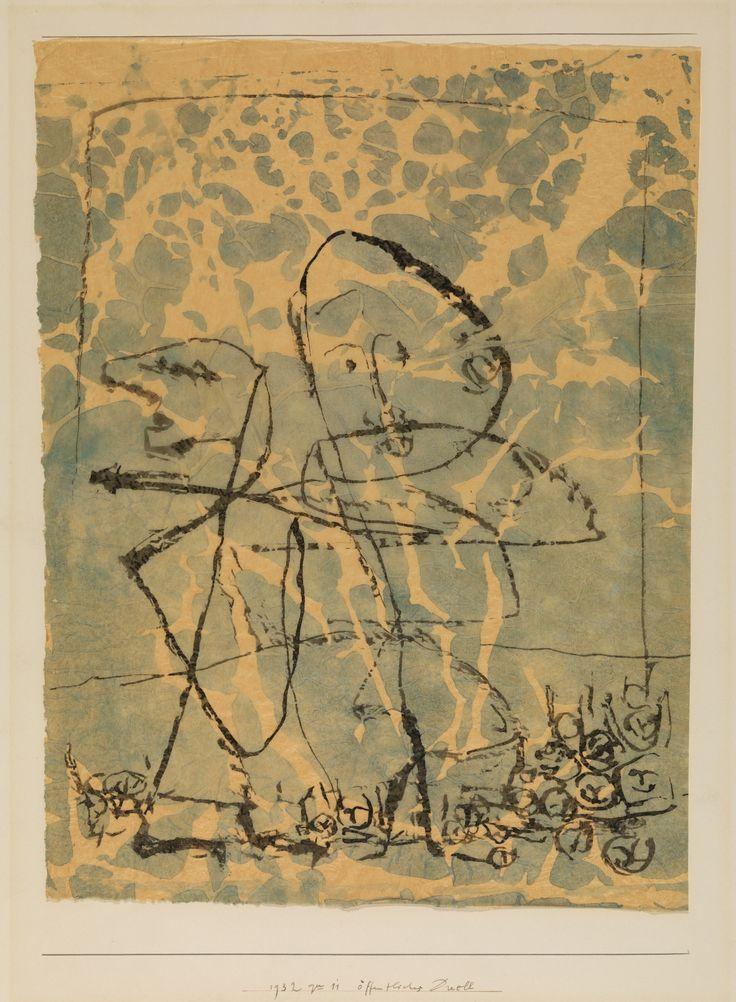 Public Duel by Paul Klee by Guggenheim Museum