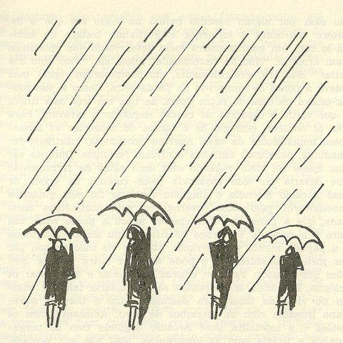 O Dilúvio - Cem Anos De Solidão - Carybé
