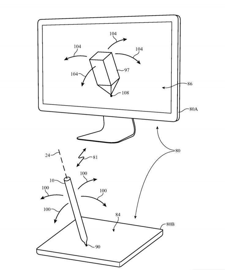 According to a recent patent titled: Stylus with inertial sensor, Mac users may soon be able to sign documents, draw, and play games, using an Apple Pencil, in conjunction with a MacBook's Force Touch Trackpad, or a Magic Trackpad 2.