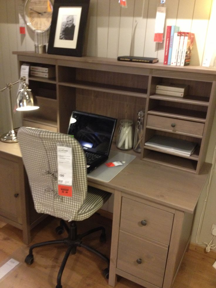 Ikea Hemnes Desk Coastal Home Office Pinterest