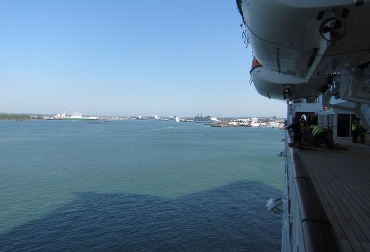 arrive Southampton