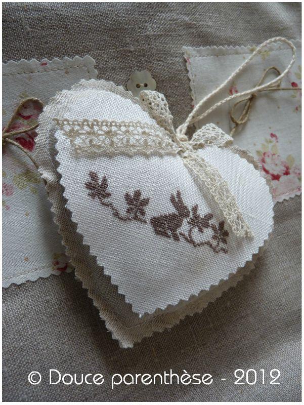 Coeur Lulli - Photo de Atelier broderie - Douce parenthèse