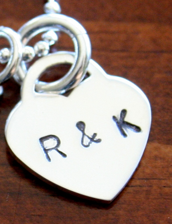 Perfect Wedding Gift For Your Daughter : Pin by K & S Impressions on Personalized Hand Stamped Charms With Nam ...